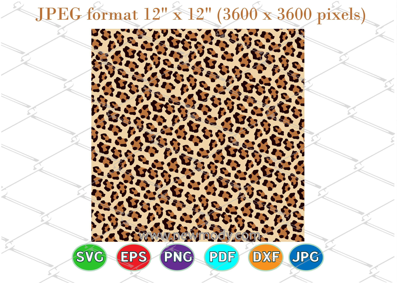 Cheetah Print Svg Cut Files Leopard Print Svg Leopard Print Svg By Amittaart Thehungryjpeg Com