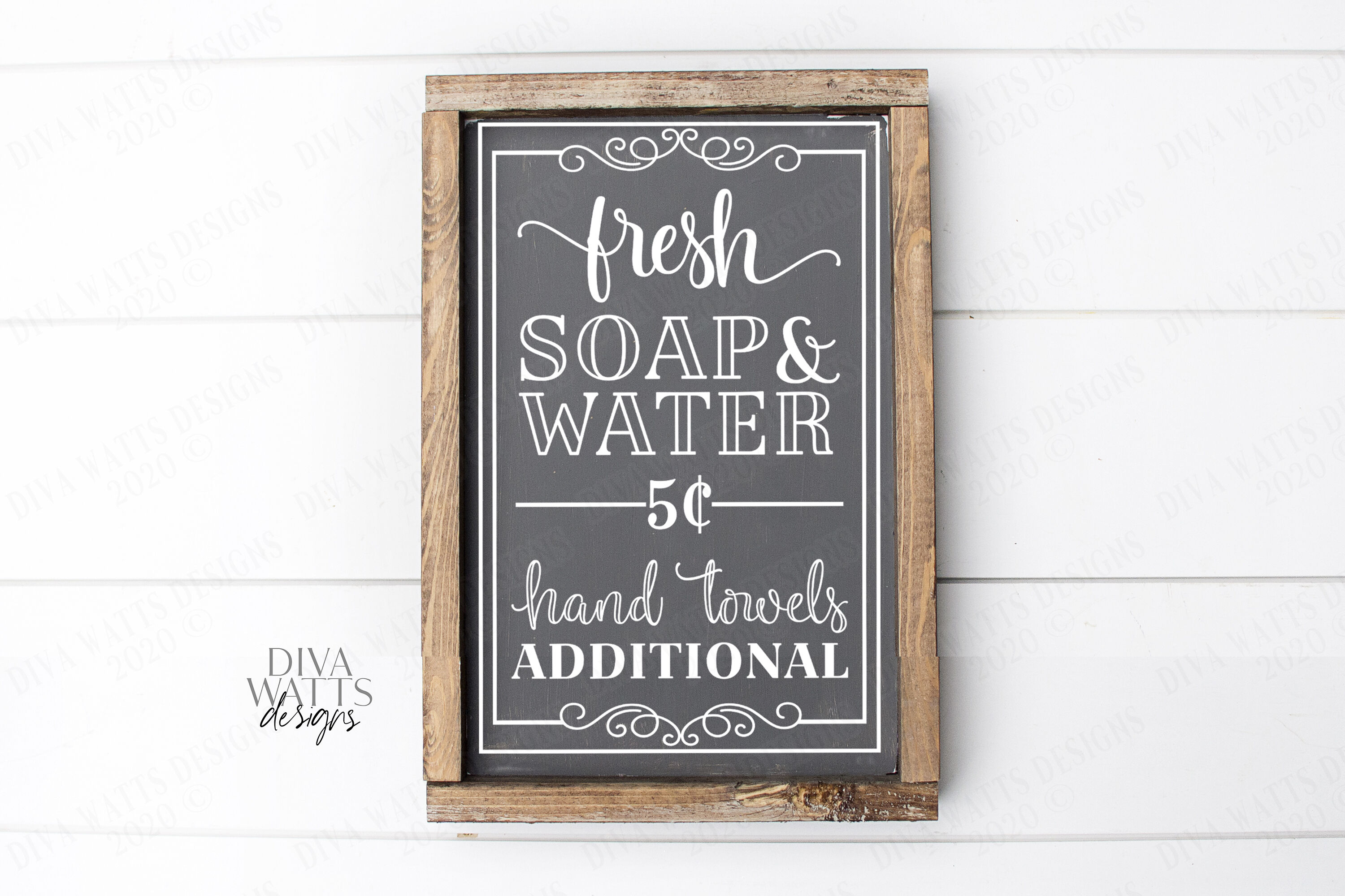 Fresh Soap And Water Hand Towels Additional Farmhouse Sign Svg Cut