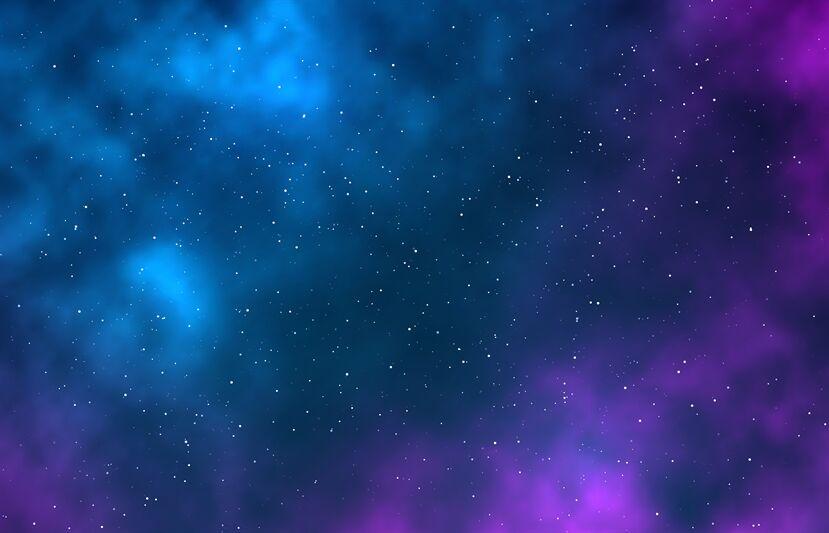 Galaxy Night Starry Sky Infinite Space Universe With Stars