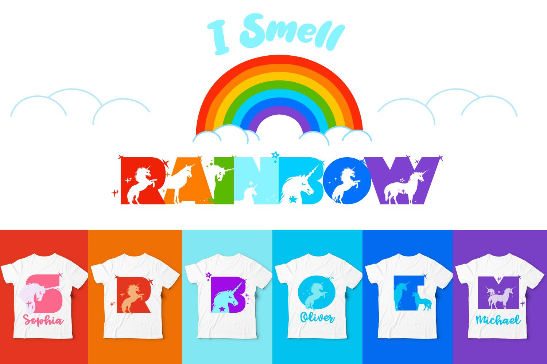 Unicorn Smiles Layered Font Plus Bonus Files By Anastasia Feya