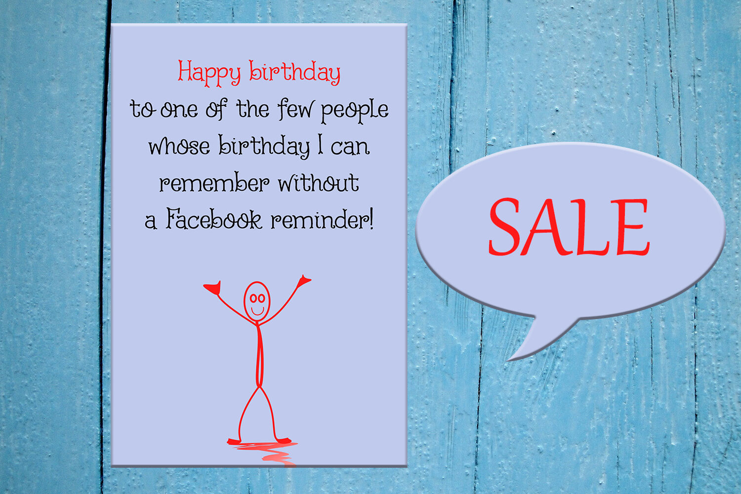 Funny Happy Birthday Card Greeting Card Interesting By