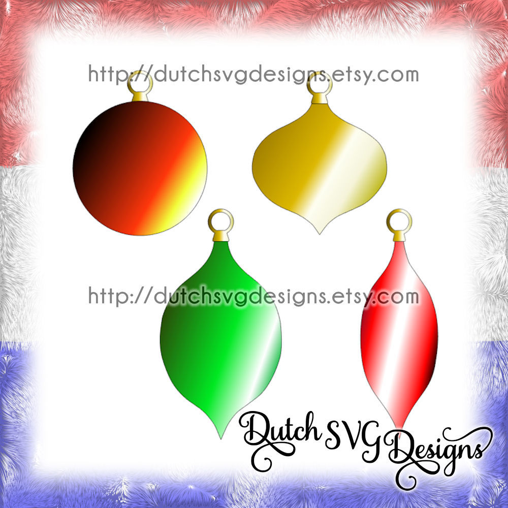 Christmas Ornaments Cutting Files In Jpg Png Svg Eps Dxf For Cricut Silhouette Plotter Hobby Ball Balls Bulb Xmas Tree Decoration By Dutch Svg Designs Thehungryjpeg Com
