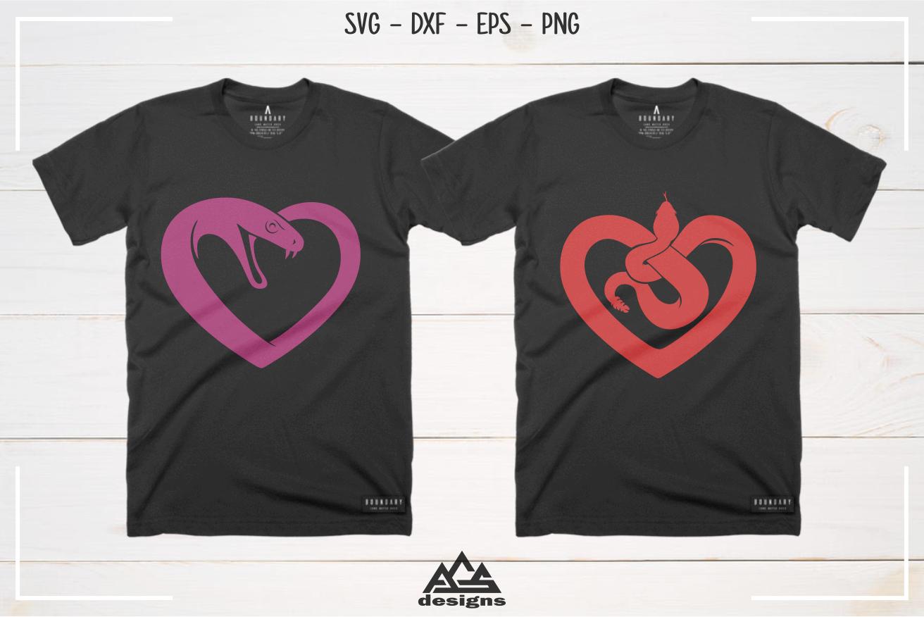 I Love Heart Snakes Kids T-Shirt