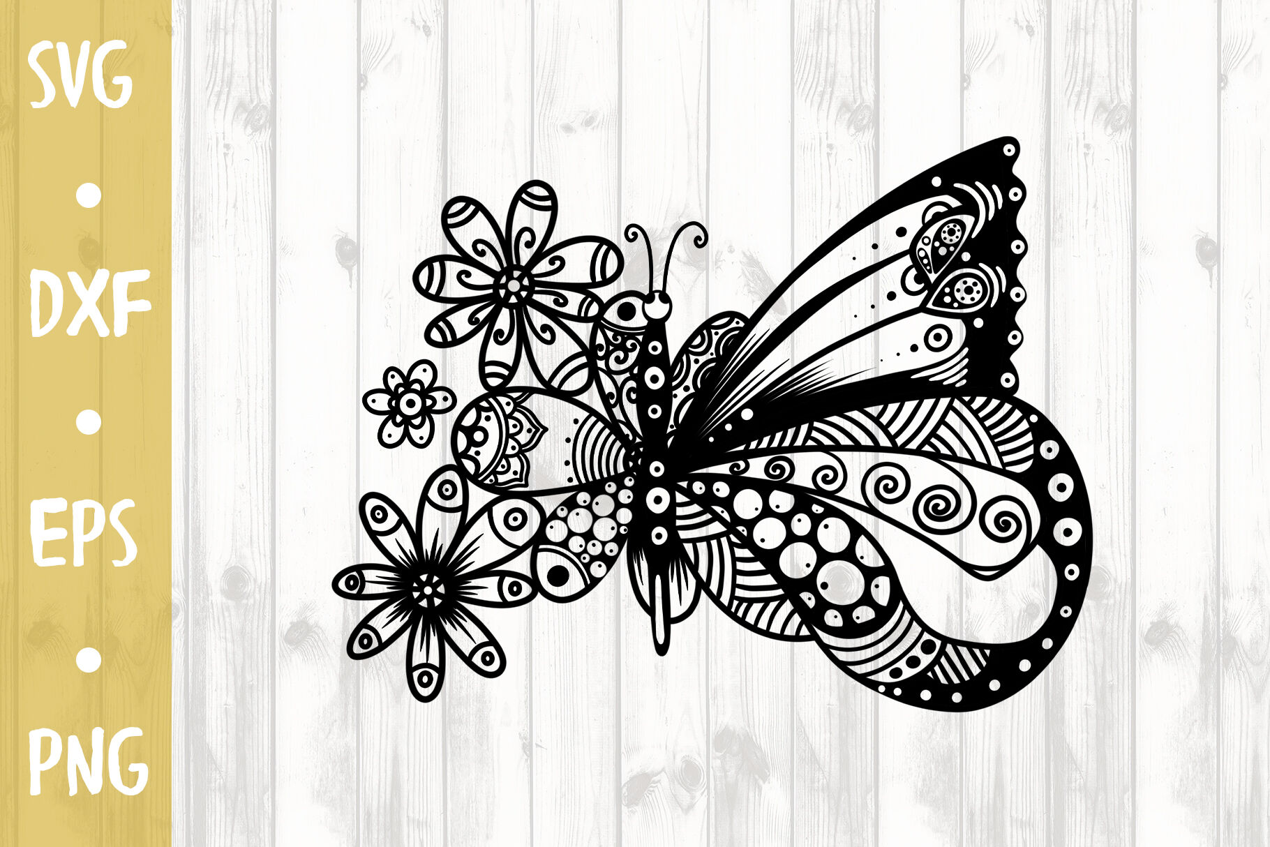 Butterfly Svg Cut File By Milkimil Thehungryjpeg Com