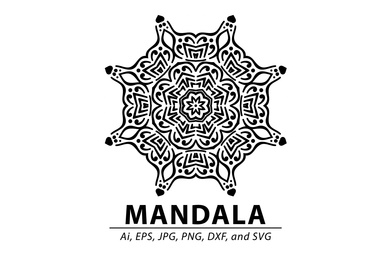 Mandala By Red Sugar Design Thehungryjpeg Com