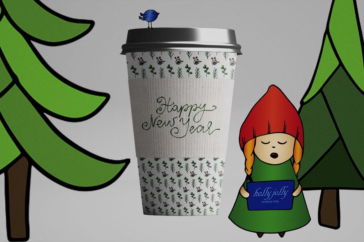 Gnomes Christmas By Mayuka S Studio Thehungryjpeg Com