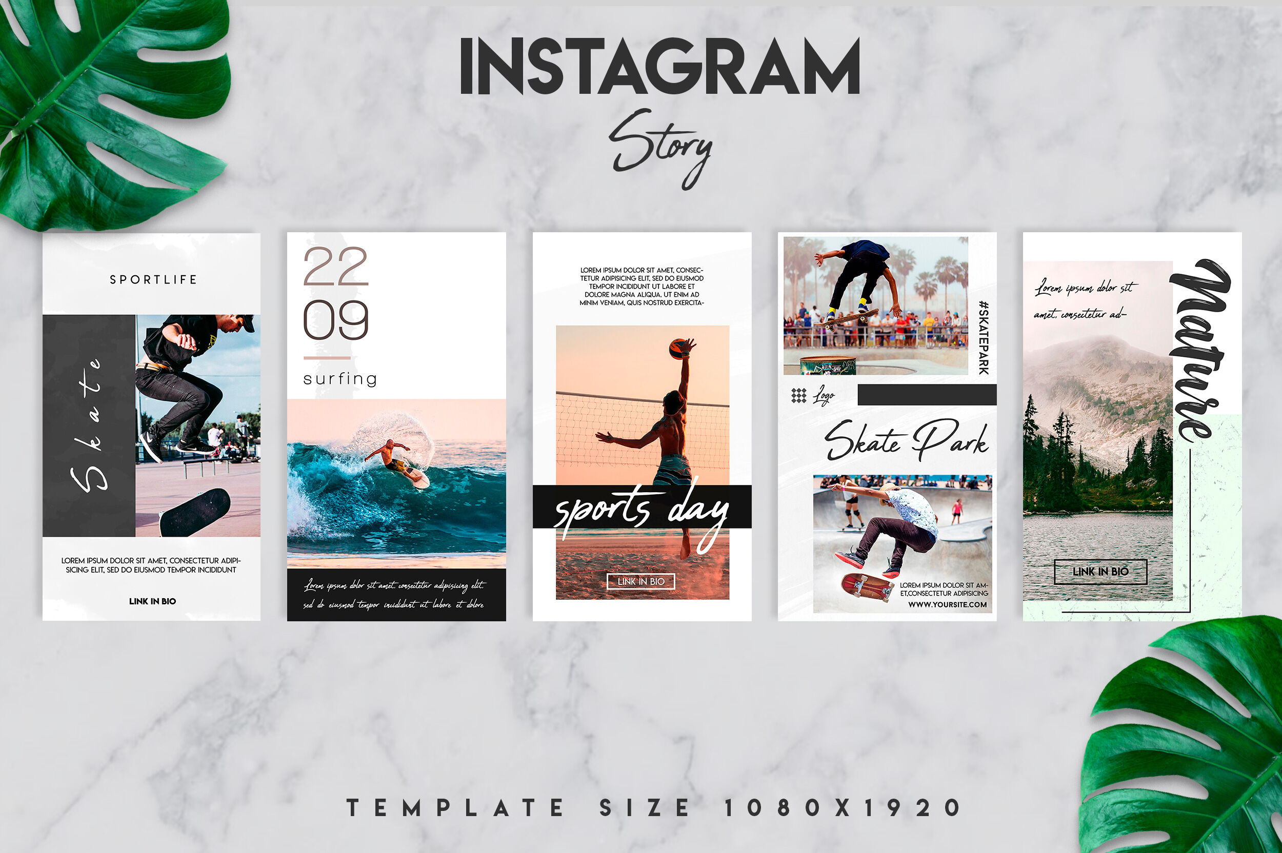 10 Instagram Story Template Bundle By Design360 Thehungryjpeg Com