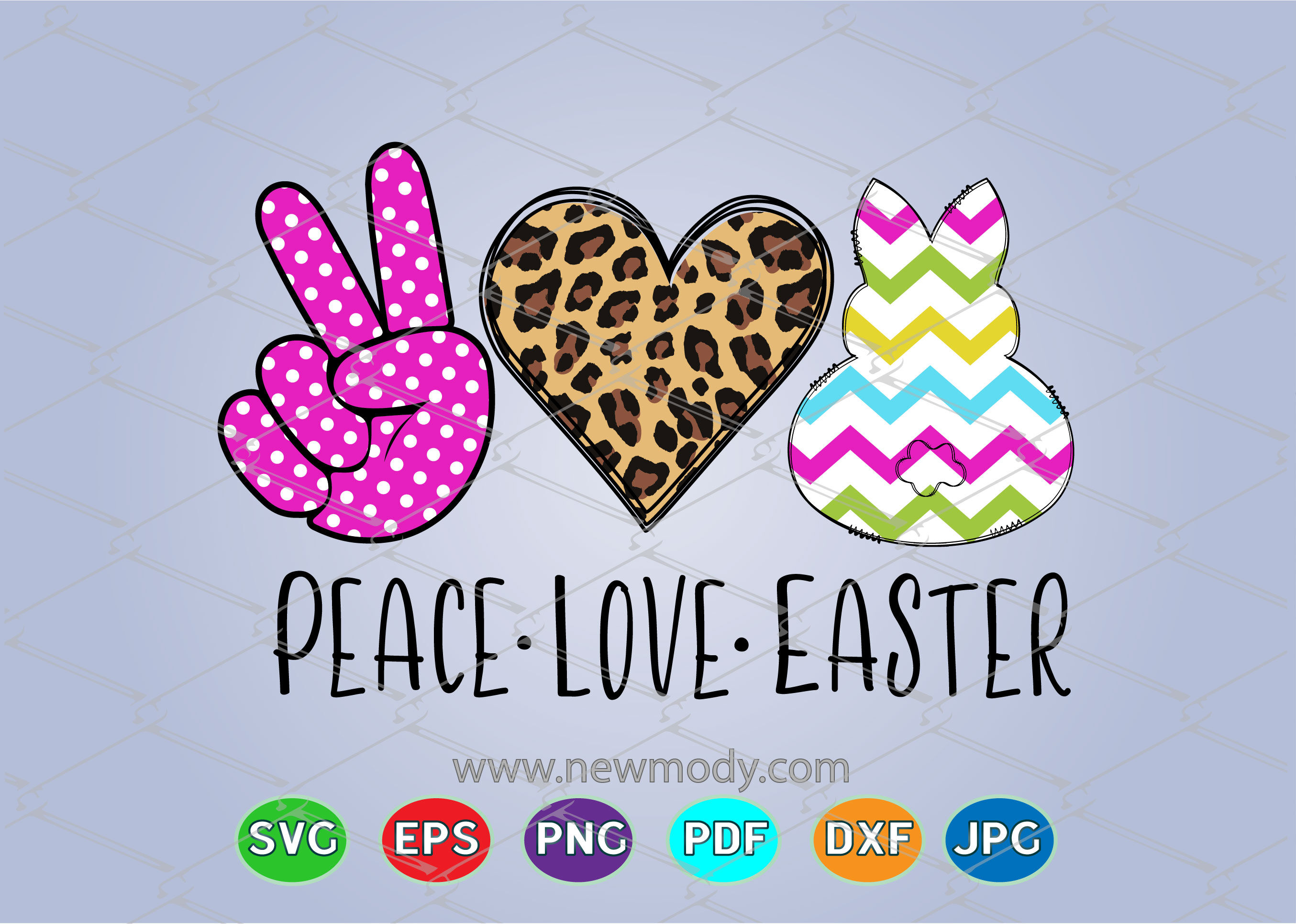 Peace Love Easter Svg Cut Files Peace Love Svg By Amittaart