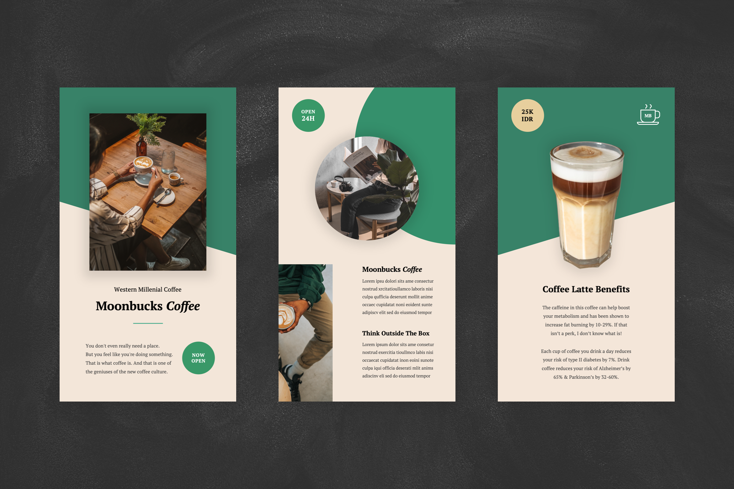 Coffee Shop Instagram Stories Powerpoint Template By Stringlabs Thehungryjpeg Com
