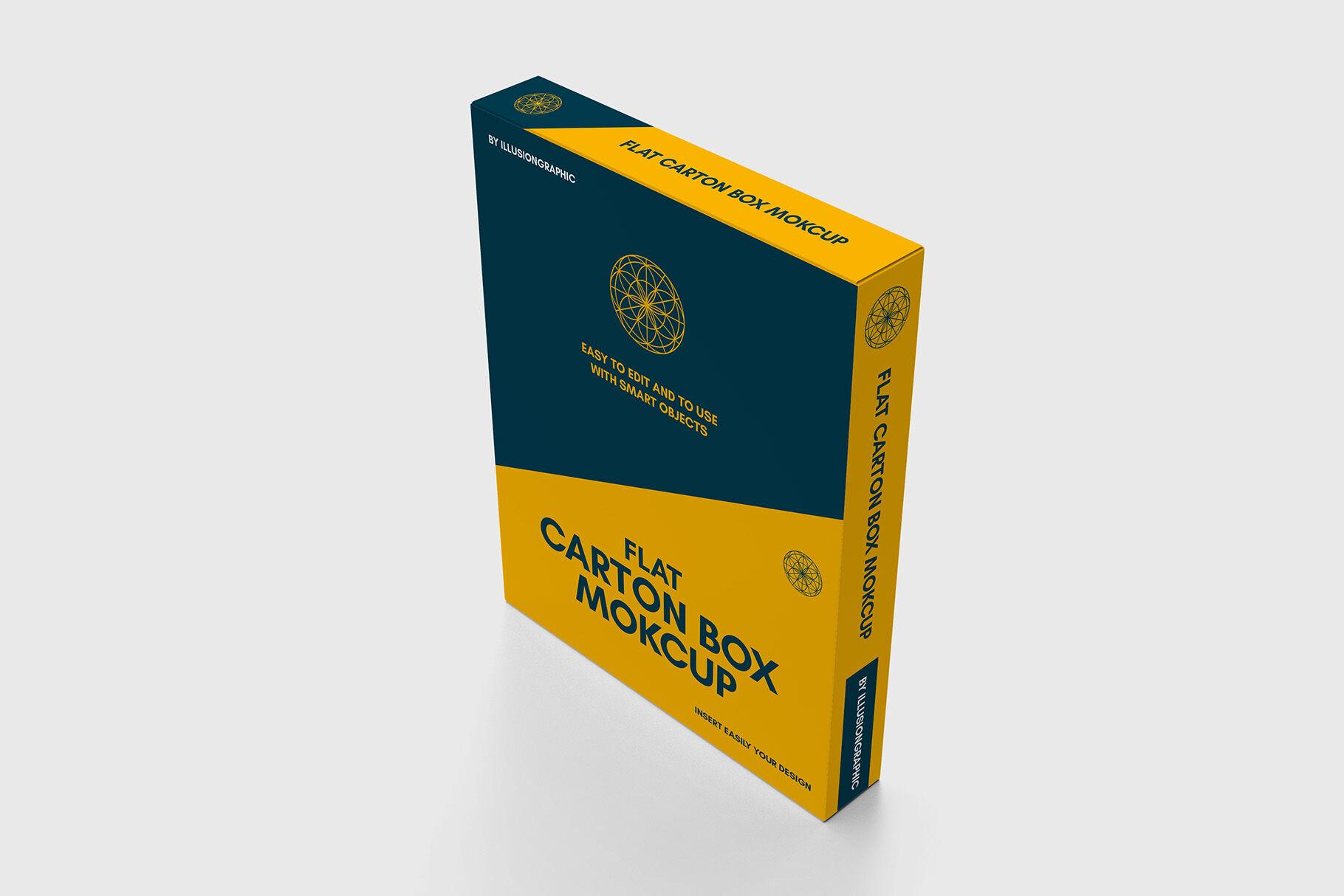 Download Box Mockup Yellowimages