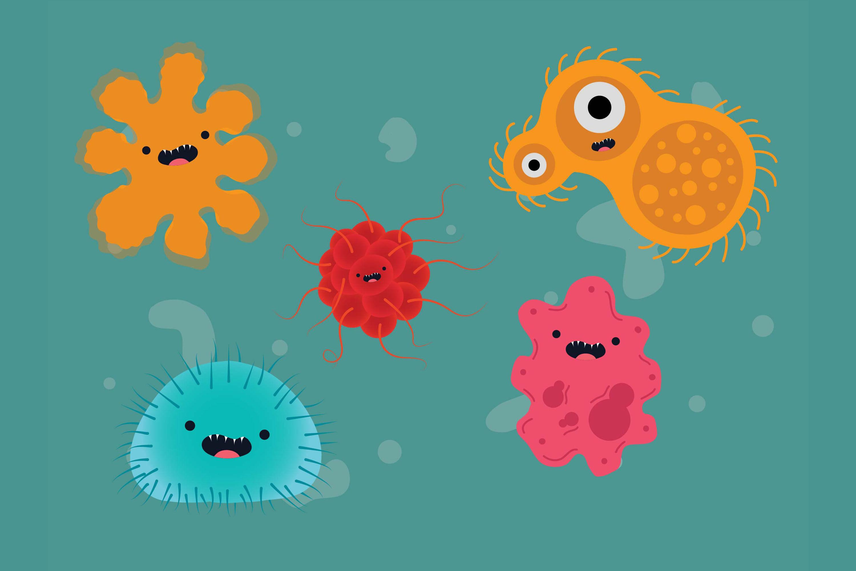 Corona Virus 5 Bundle Illustration By Red Sugar Design