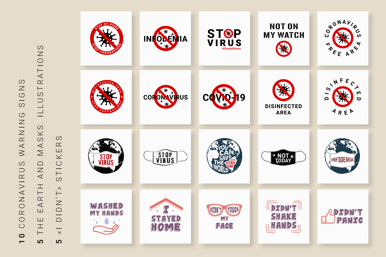 50 Posters About Coronavirus Quarantine By Cosmic Store