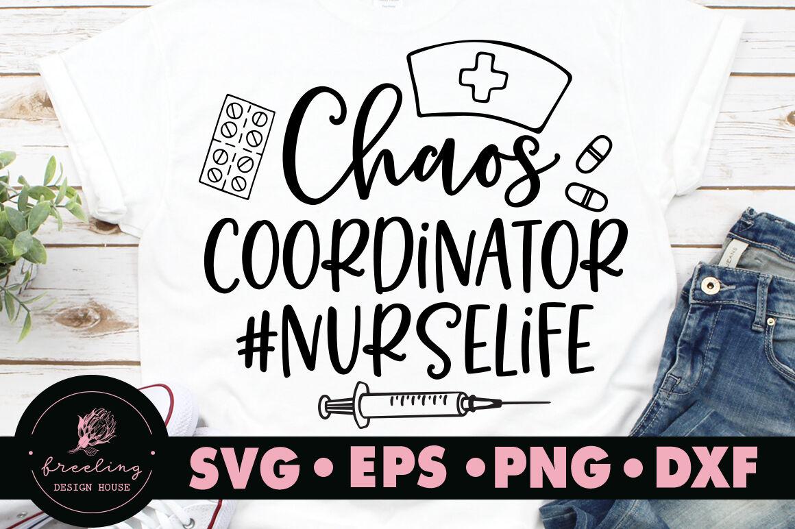 Chaos Coordinator Svg By Freeling Design House Thehungryjpeg Com