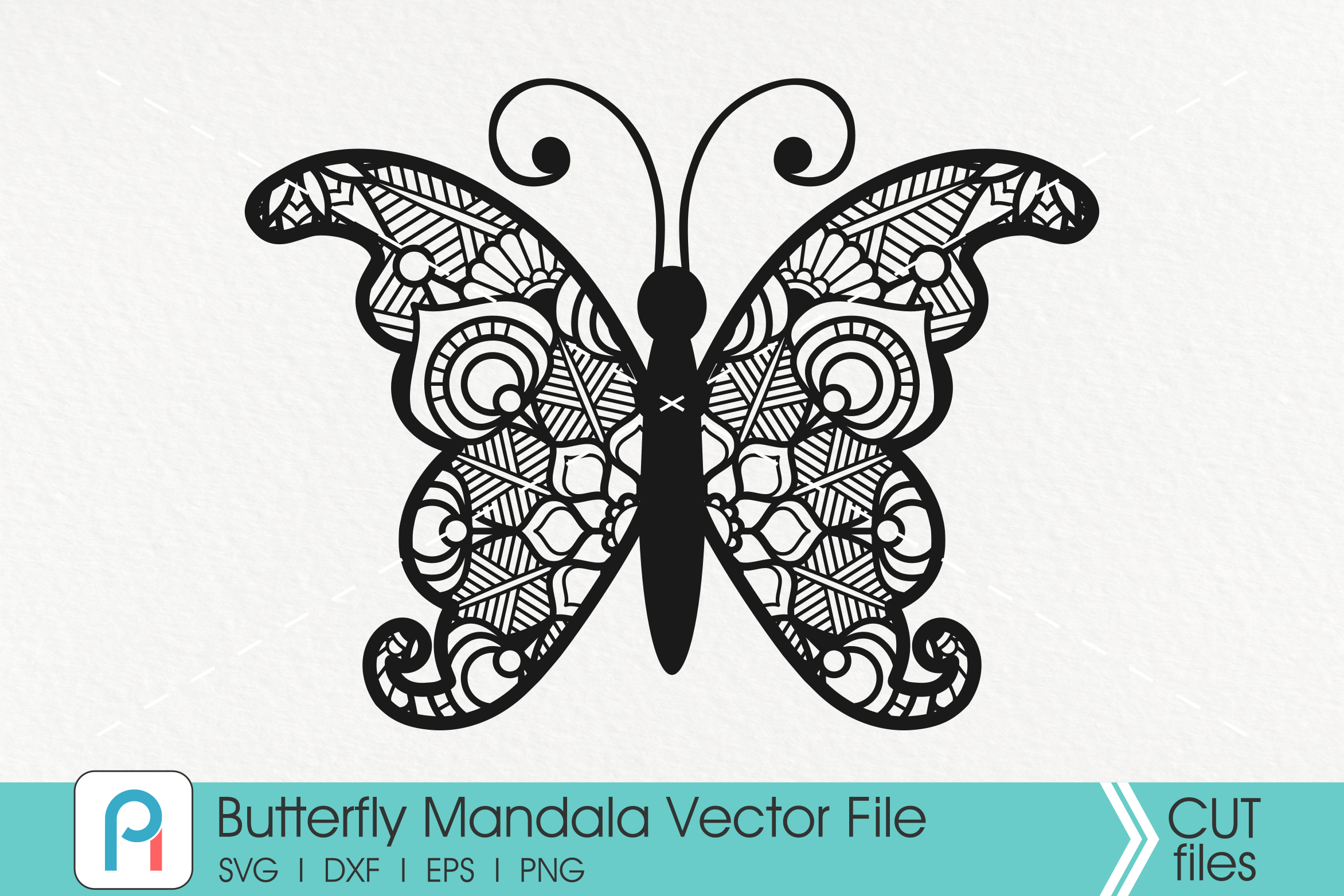Butterfly Mandala Svg Butterfly Svg Mandala Svg Butterfly Clip