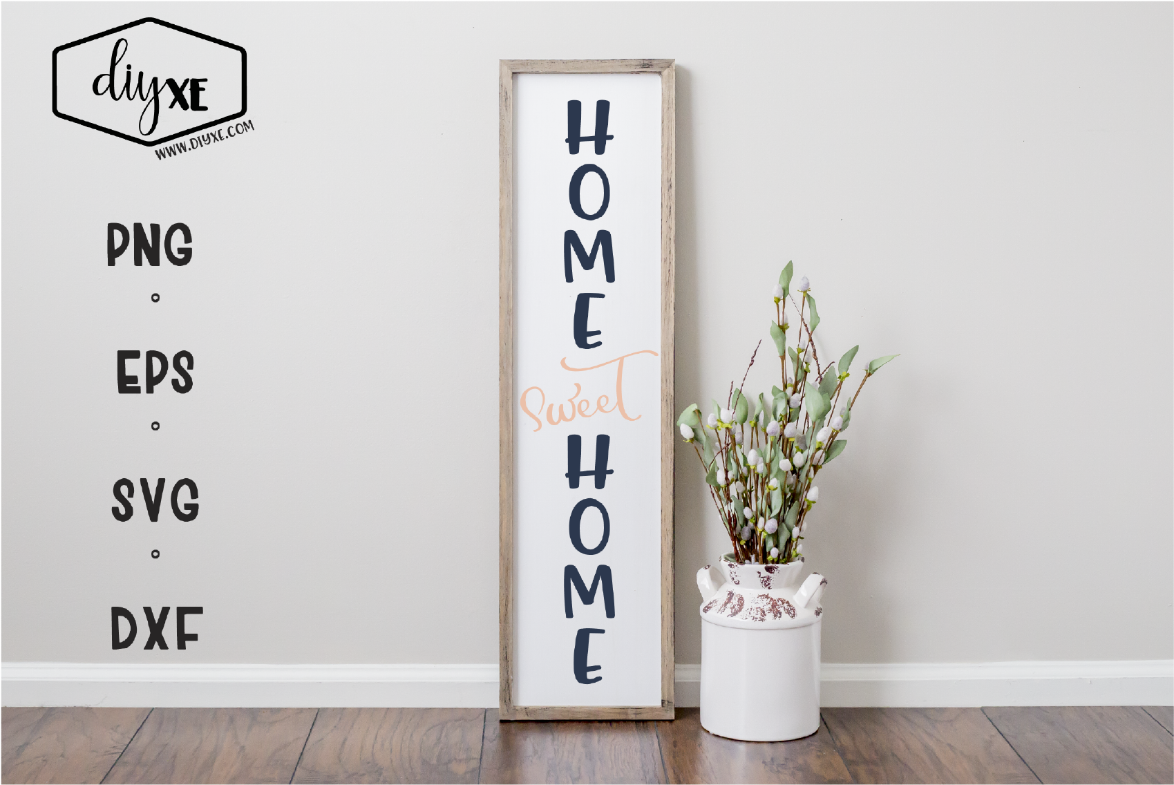 Home Sweet Home A Front Porch Sign Svg Cut File By Diyxe