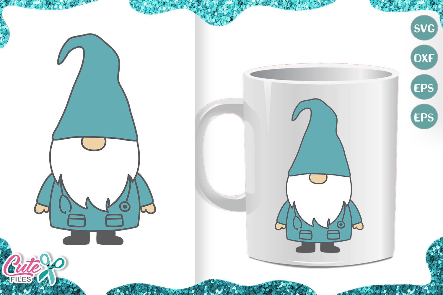 Nurse Gnome Medical Gnome Svg Cut File For Crafter By Cute Files