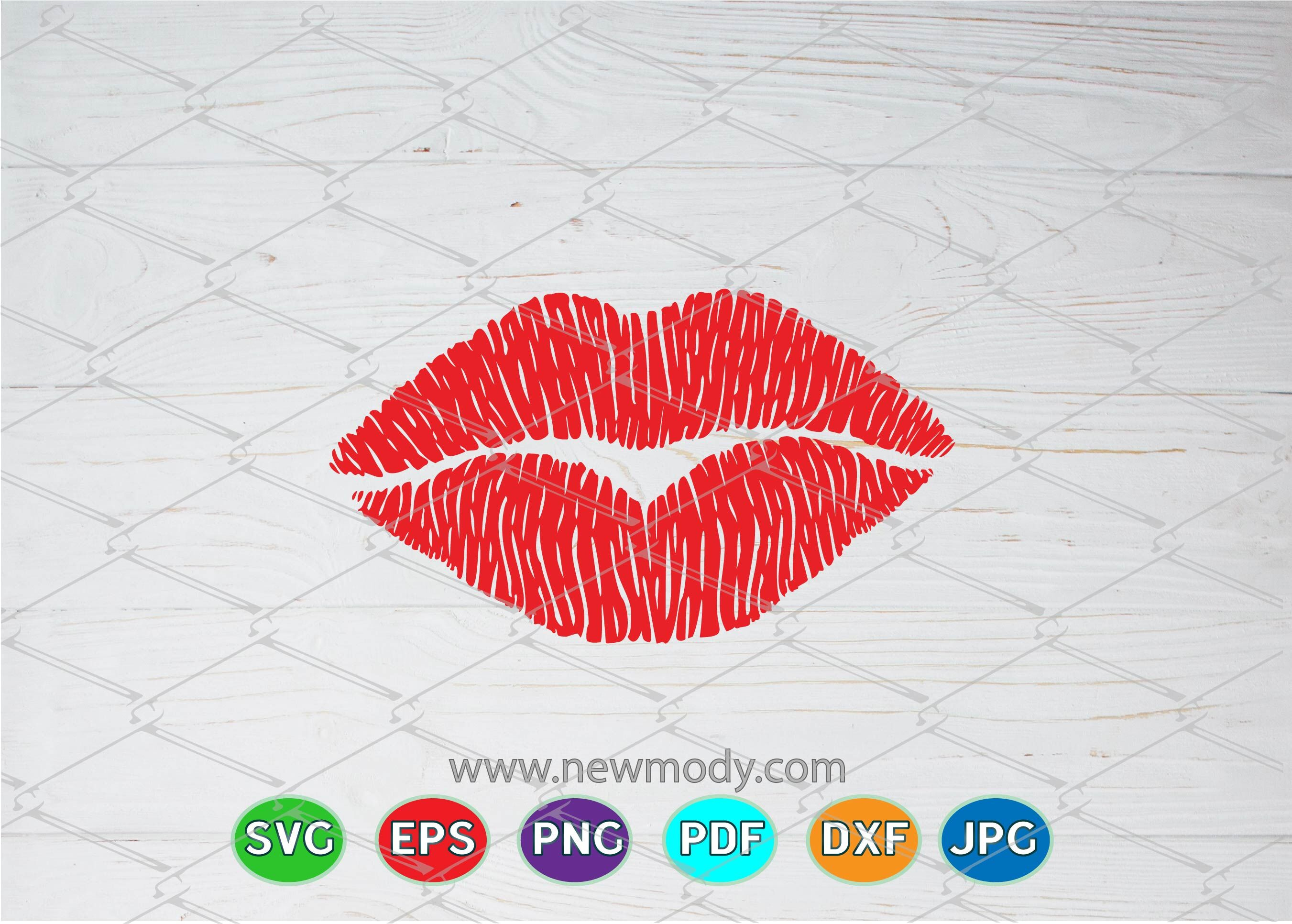 Download Red Lips Clipart - Clip Art - Full Size PNG Image - PNGkit