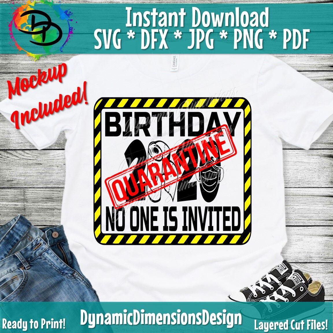 Quarantine Birthday Birthday 2020 Birthday Quarantine Birthday
