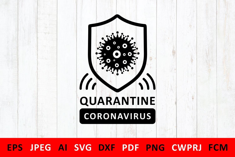 Svg Covid 19 Coronavirus 2019 Ncov For Diy Mask By Zoya Miller Svg
