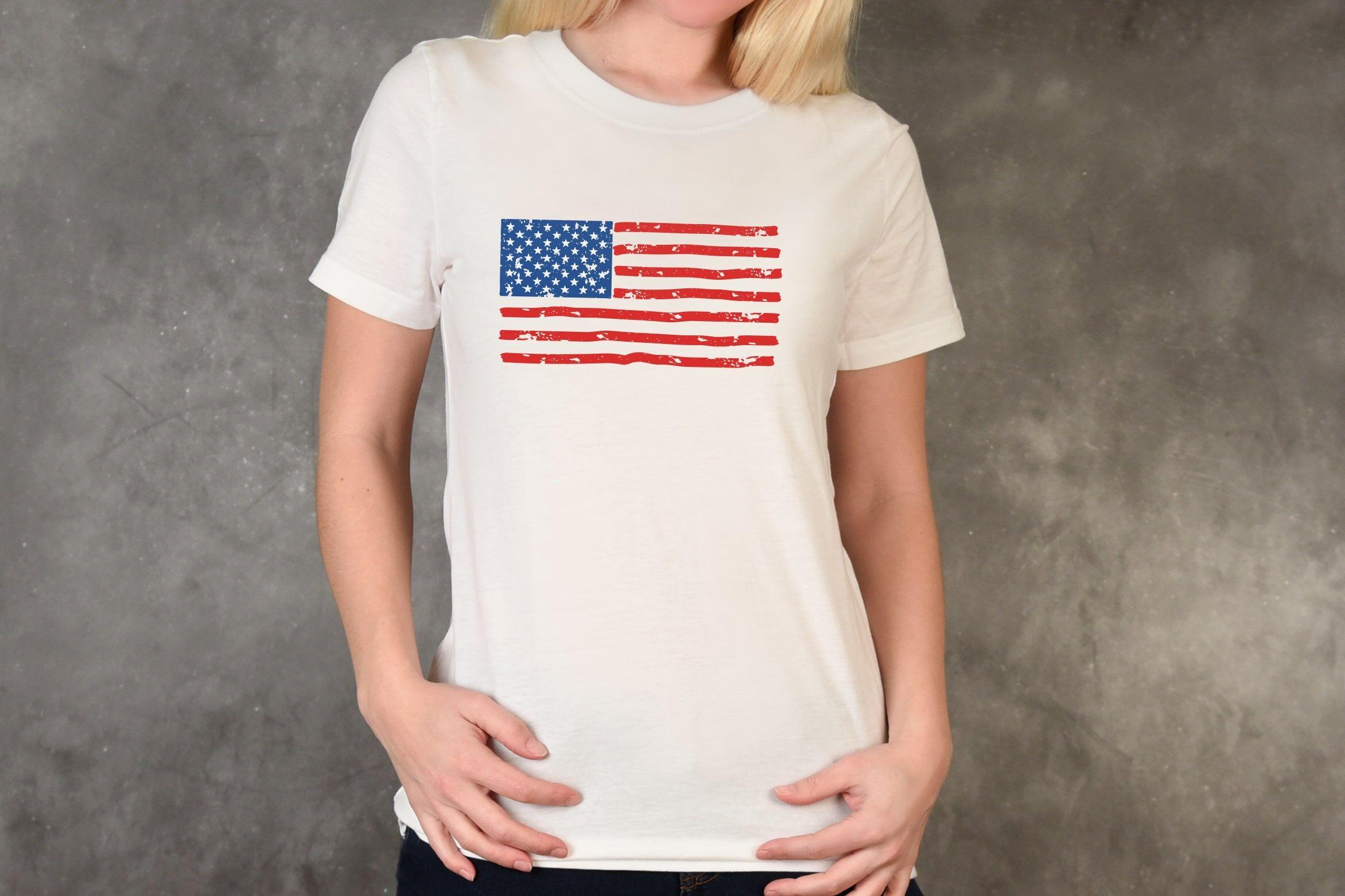 Distressed American Flag Svg Usa Flag Svg Grunge Usa Flag By