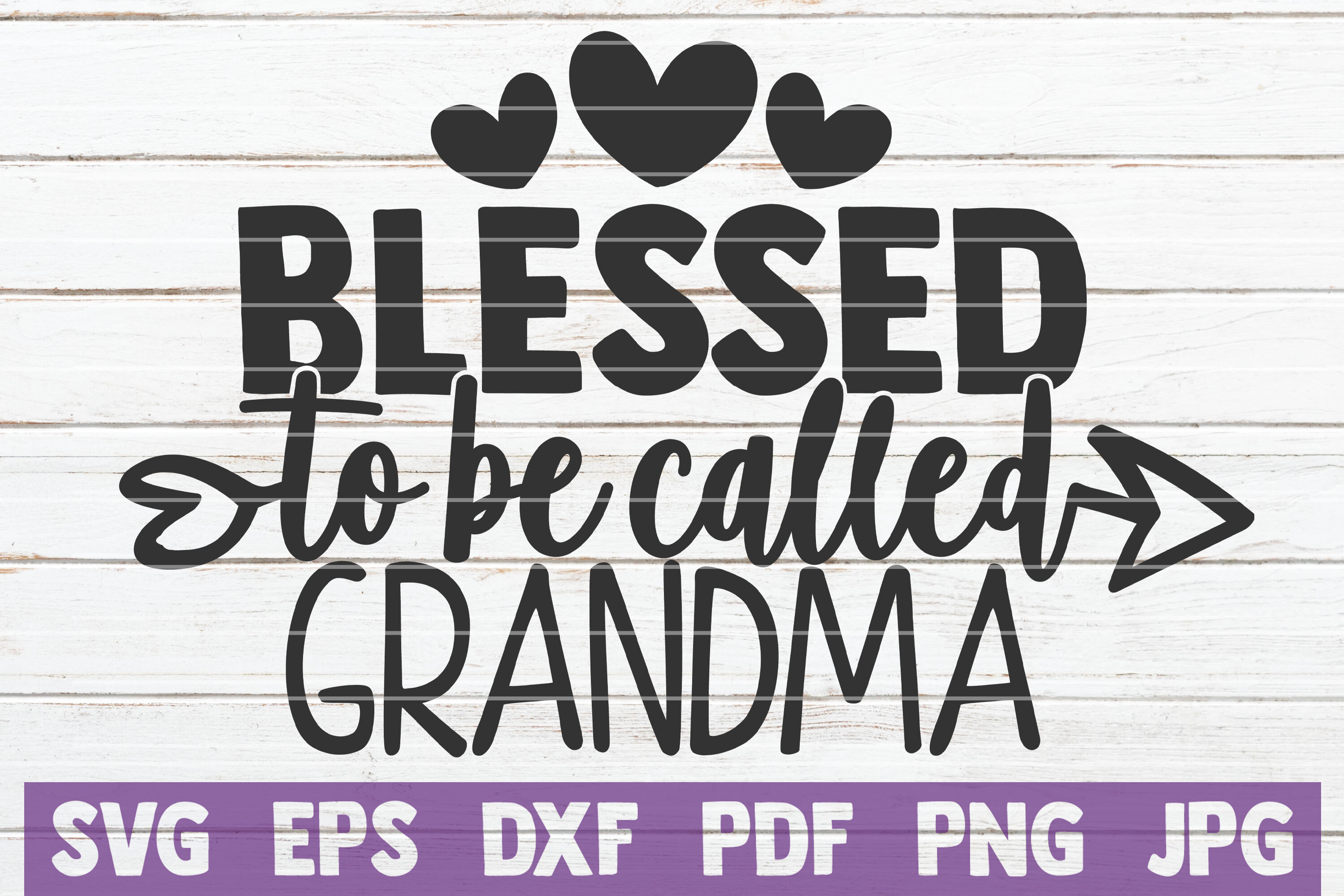 Blessed To Be Called Grandma Svg Cut File By Mintymarshmallows