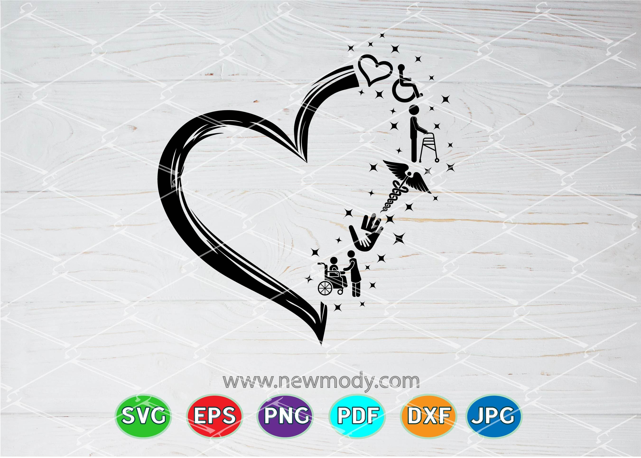 Disability Support Svg Helping Hands Svg Heart Svg By
