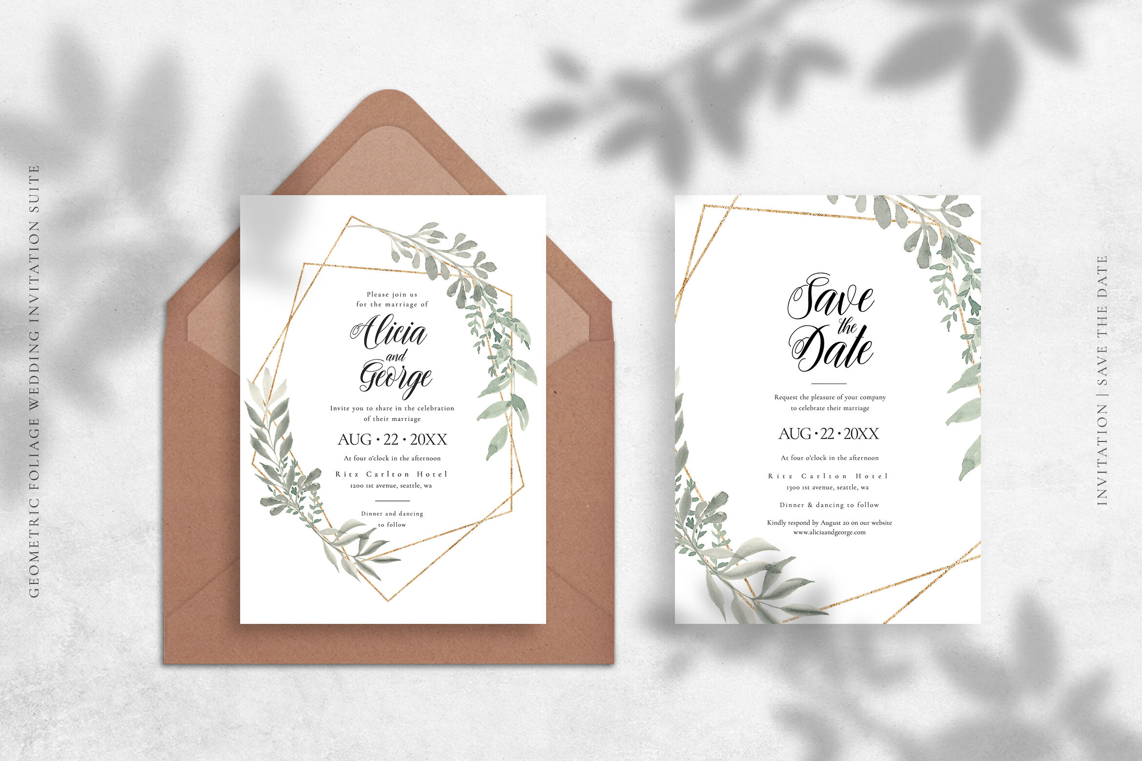 Download Save The Date Mockup Psd Free Yellowimages