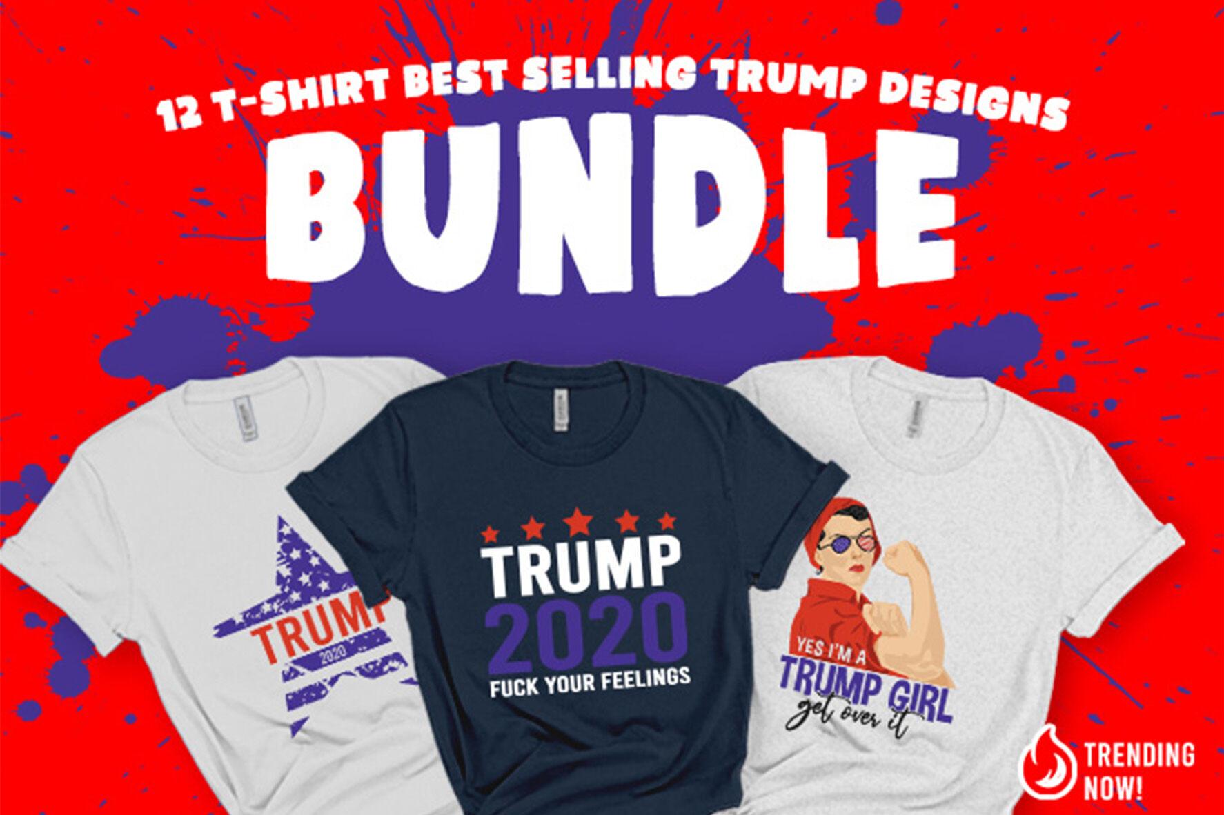 12 Trump 2020 Bundle Svg By Ariodsgn Thehungryjpeg Com