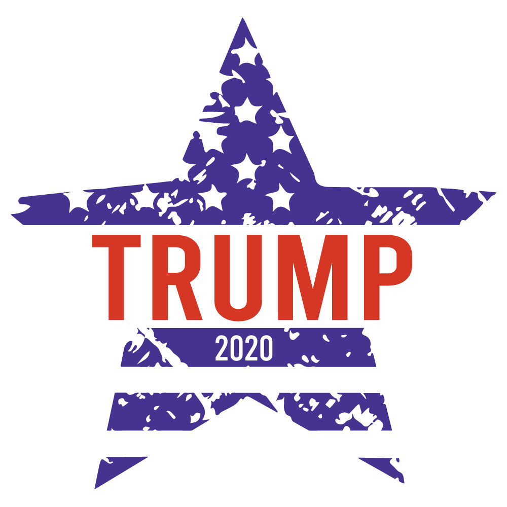 Star Trump 2020 America By Ariodsgn Thehungryjpeg Com