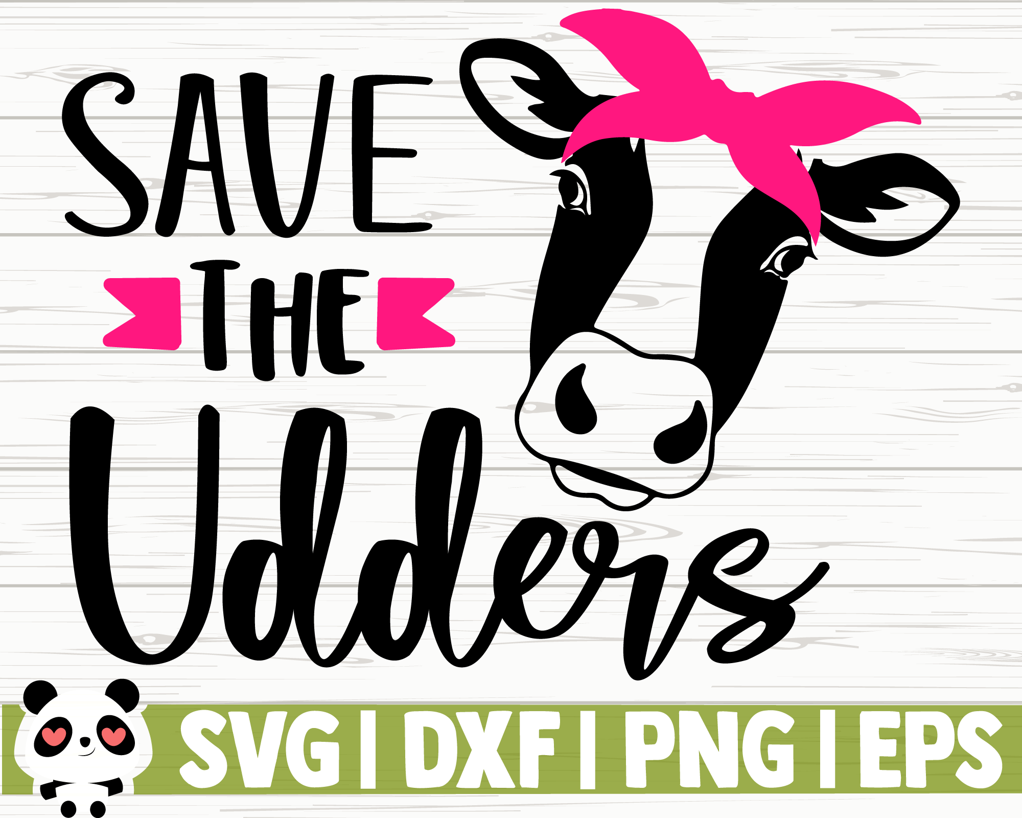 Save The Udders By Creativedesignsllc Thehungryjpeg Com
