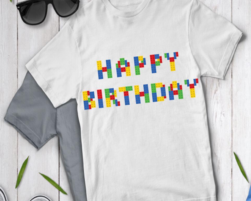 Happy Birthday Alphabet Svg Building Blocks Alphabet By Doodle