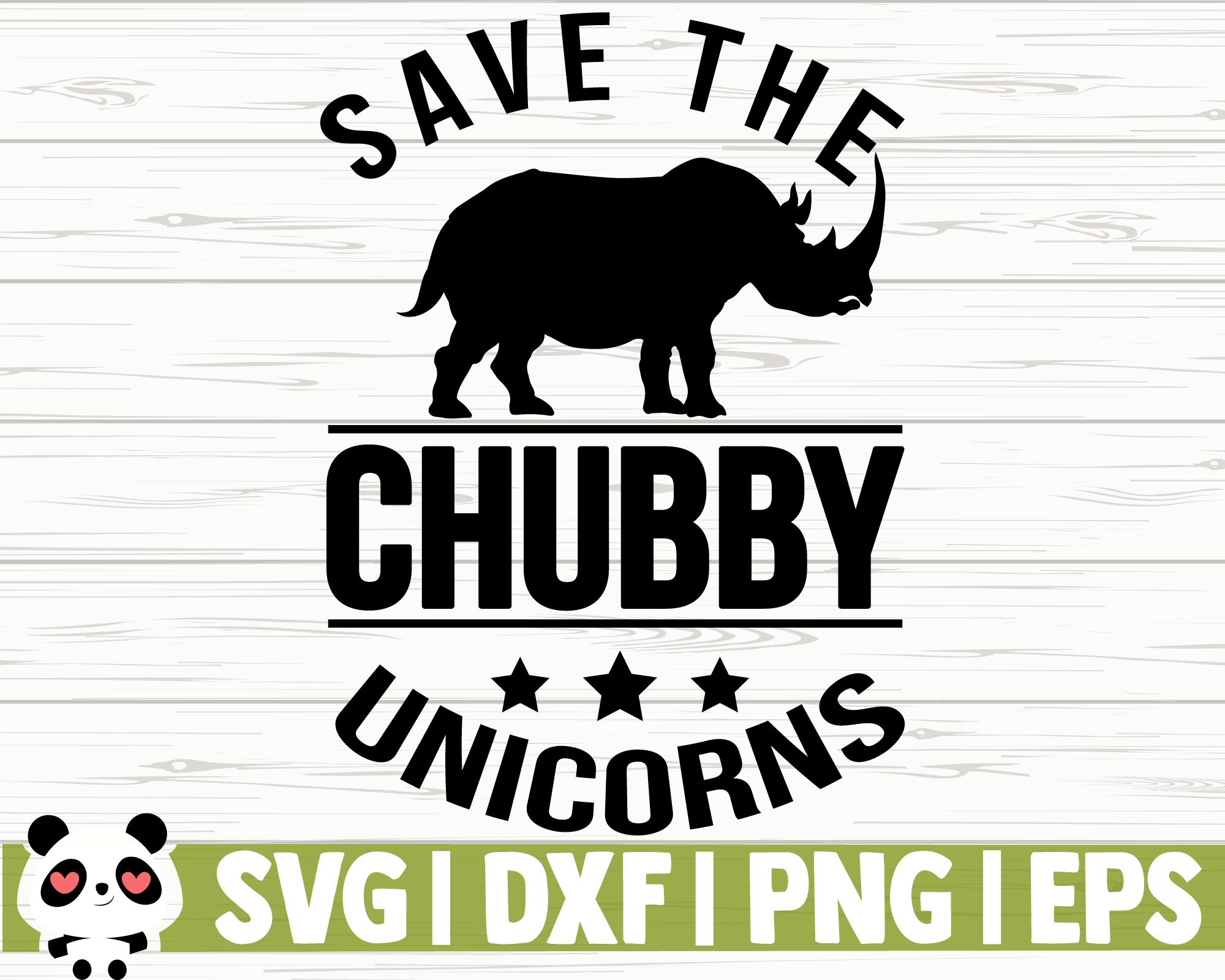 Save The Chubby Unicorns By Creativedesignsllc Thehungryjpeg Com