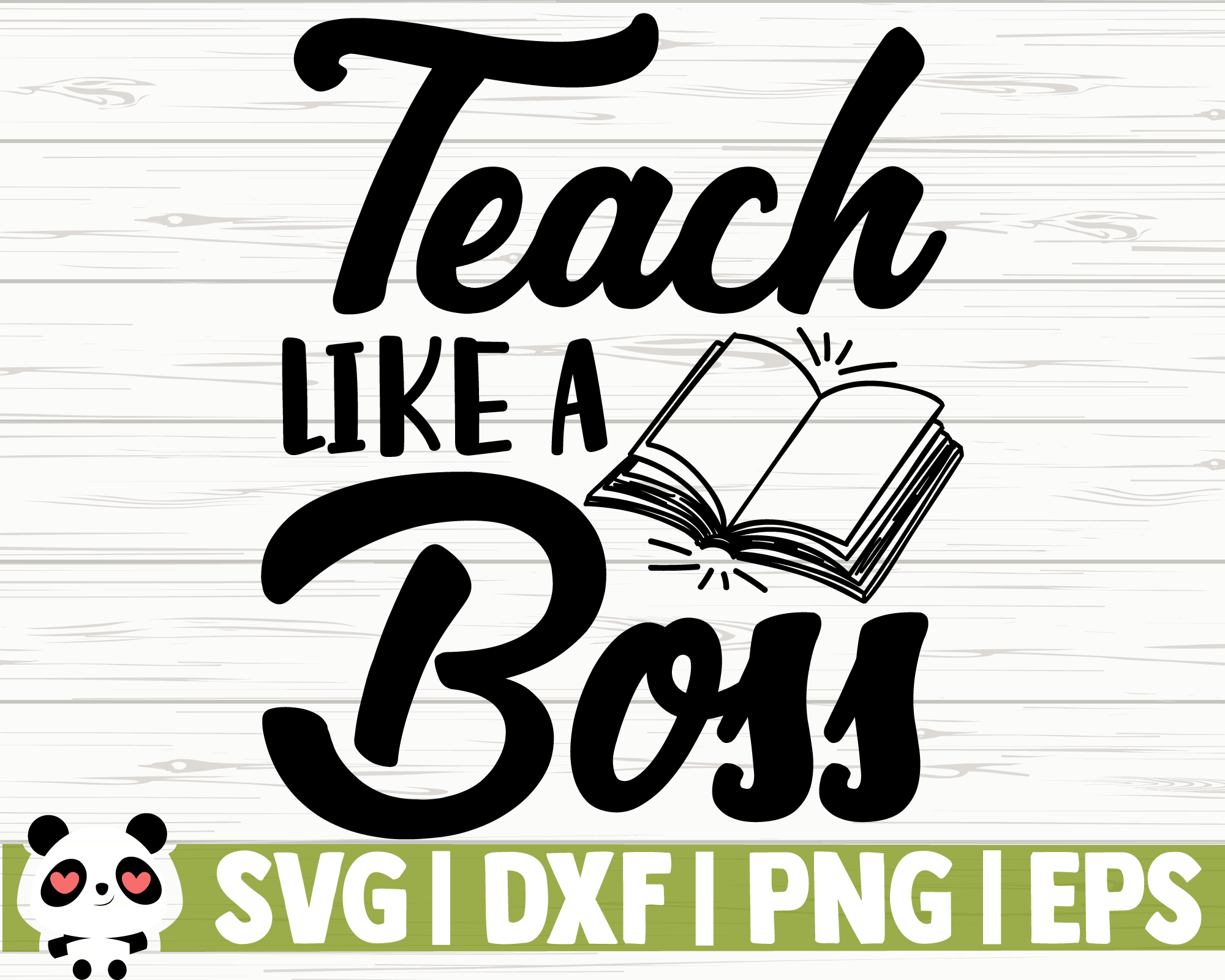 Teach Like A Boss By Creativedesignsllc Thehungryjpeg Com