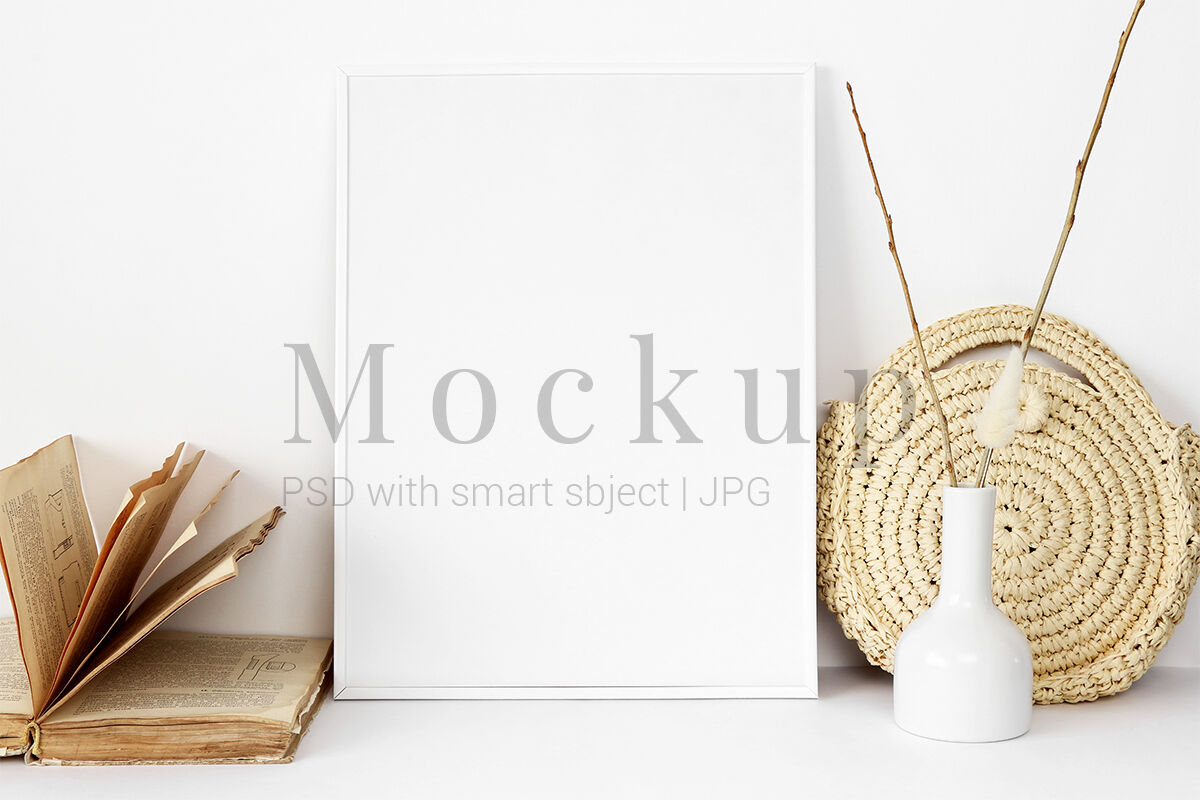 Download Kraft Paper Shopping Bag With Rope Handle Mockup Yellow Images