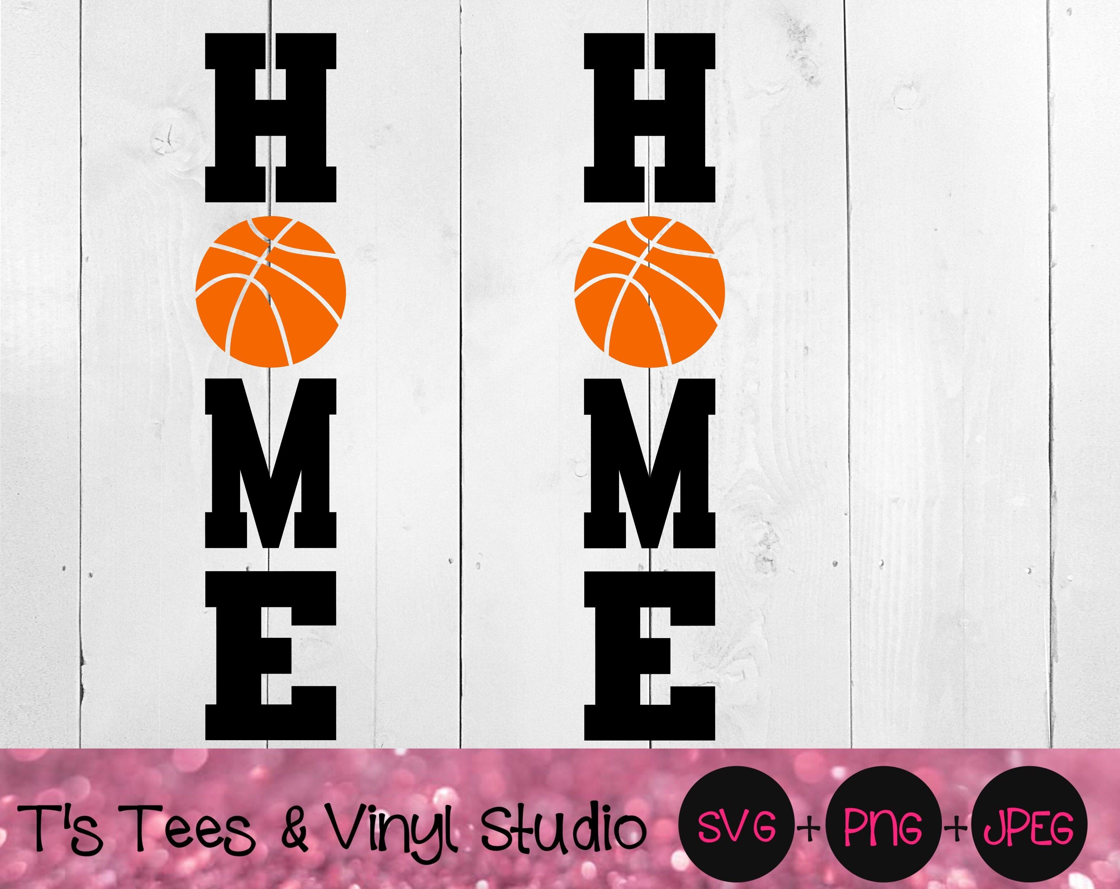 Basketball Svg Home Svg Porch Sign Svg Basketball Home Porch