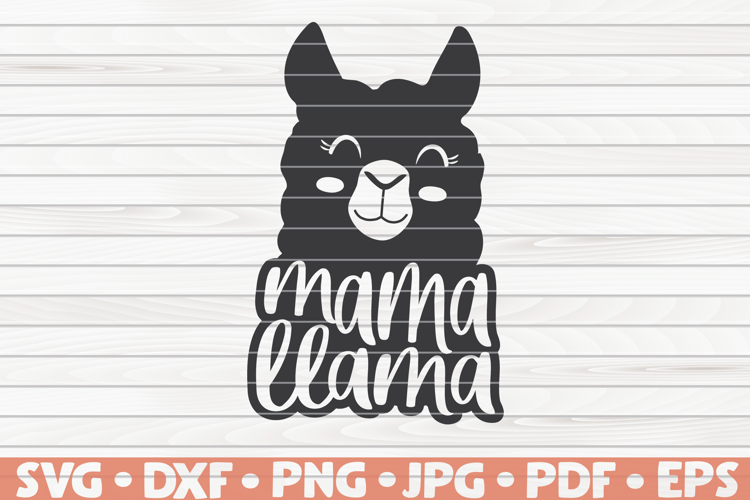 Mama Llama Svg Mother S Day Funny Sayings By Hqdigitalart