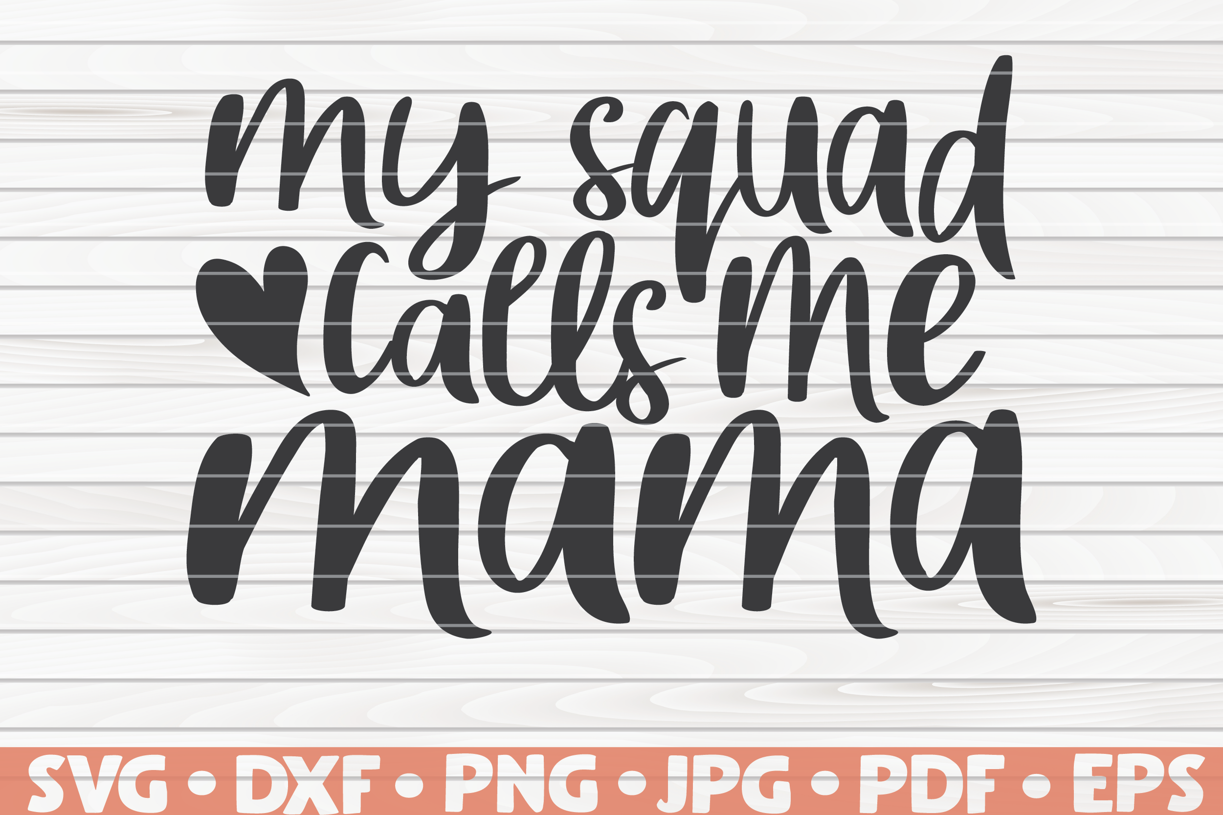 My Squad Calls Me Mama Svg Mother S Day Saying By Hqdigitalart