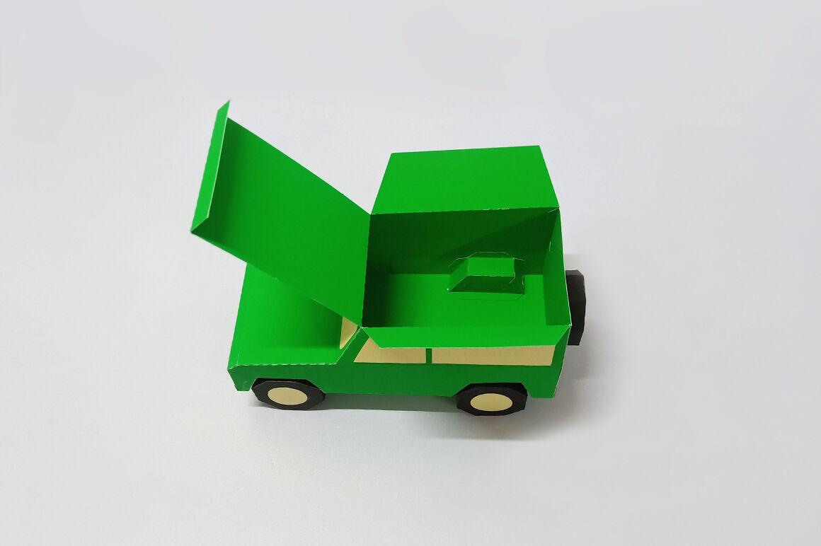 Diy Jeep Favour 3d Papercraft By Paper Amaze Thehungryjpeg Com