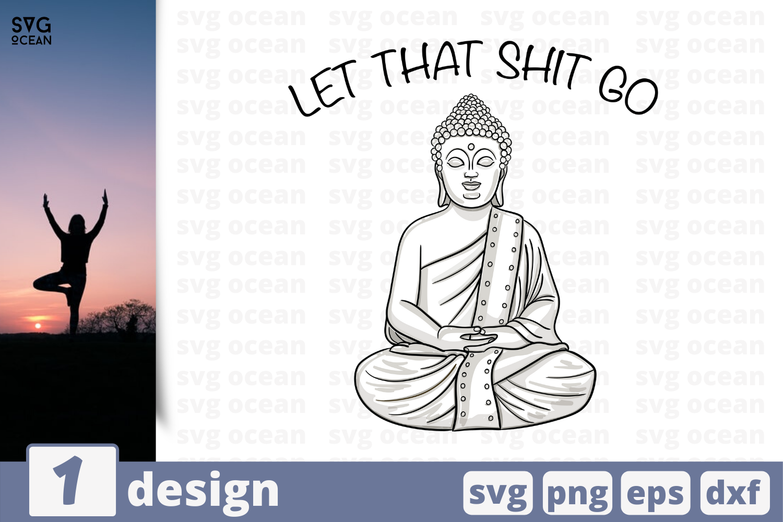 1 Buddha Svg Bundle Meditation Cricut Svg By Svgocean