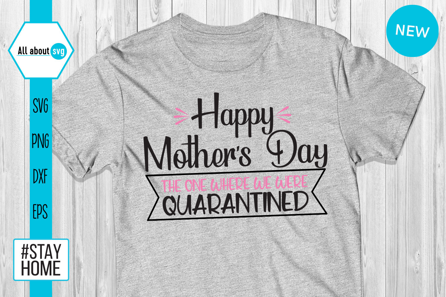 Happy Mothers Day Svg Quarantine Svg By All About Svg