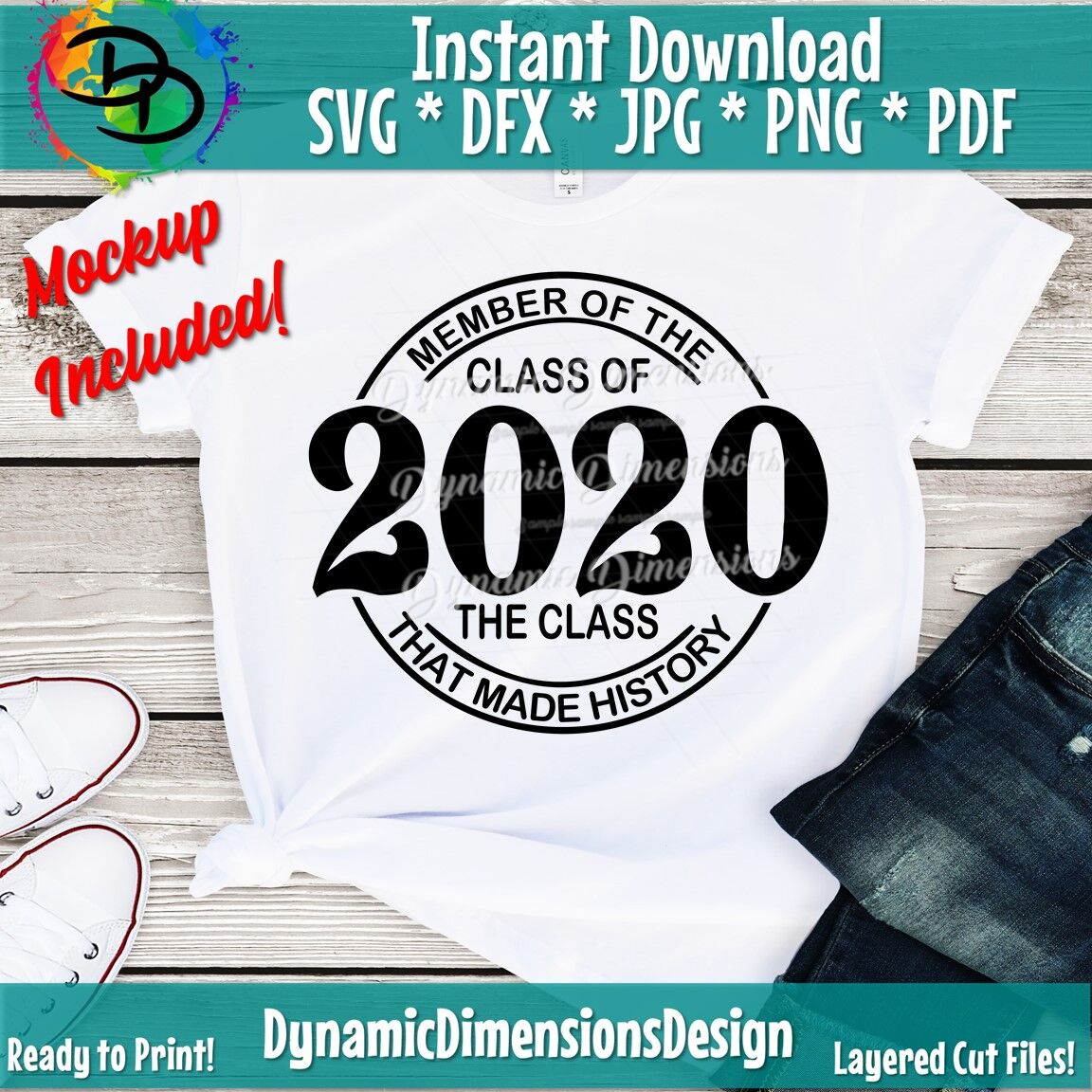 Senior 2020 Svg The Class That Made History Svg Class 2020 Svg 2020 By Dynamic Dimensions Thehungryjpeg Com