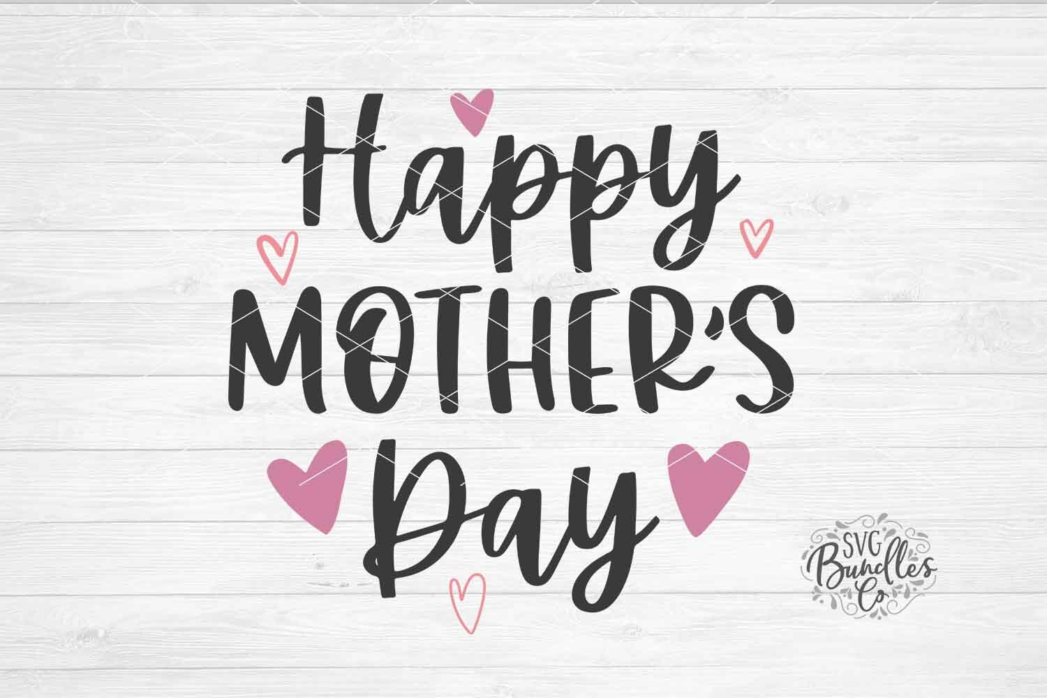 Happy Mother S Day Svg Dxf Png By Svgbundlesco Thehungryjpeg Com