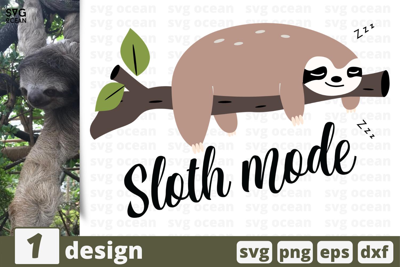 1 Sloth Mode Svg Bundle Animal Cricut Svg By Svgocean