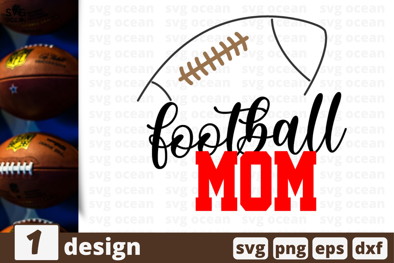 1 Football Mom Svg Bundle Sport Cricut Svg By Svgocean Thehungryjpeg Com