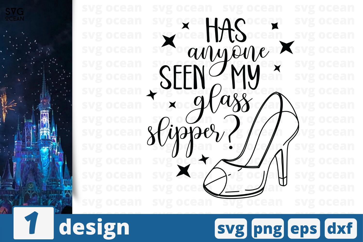1 Glass Slipper Svg Bundle Story Cricut Svg By Svgocean