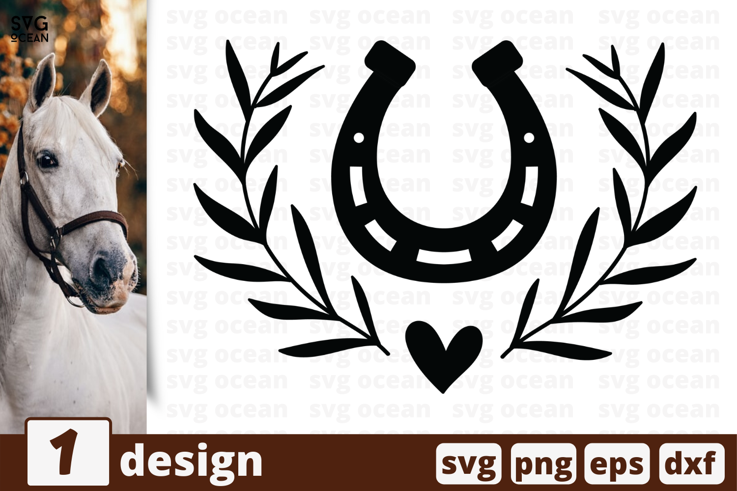 1 Horseshoe Svg Bundle Horse Cricut Svg By Svgocean