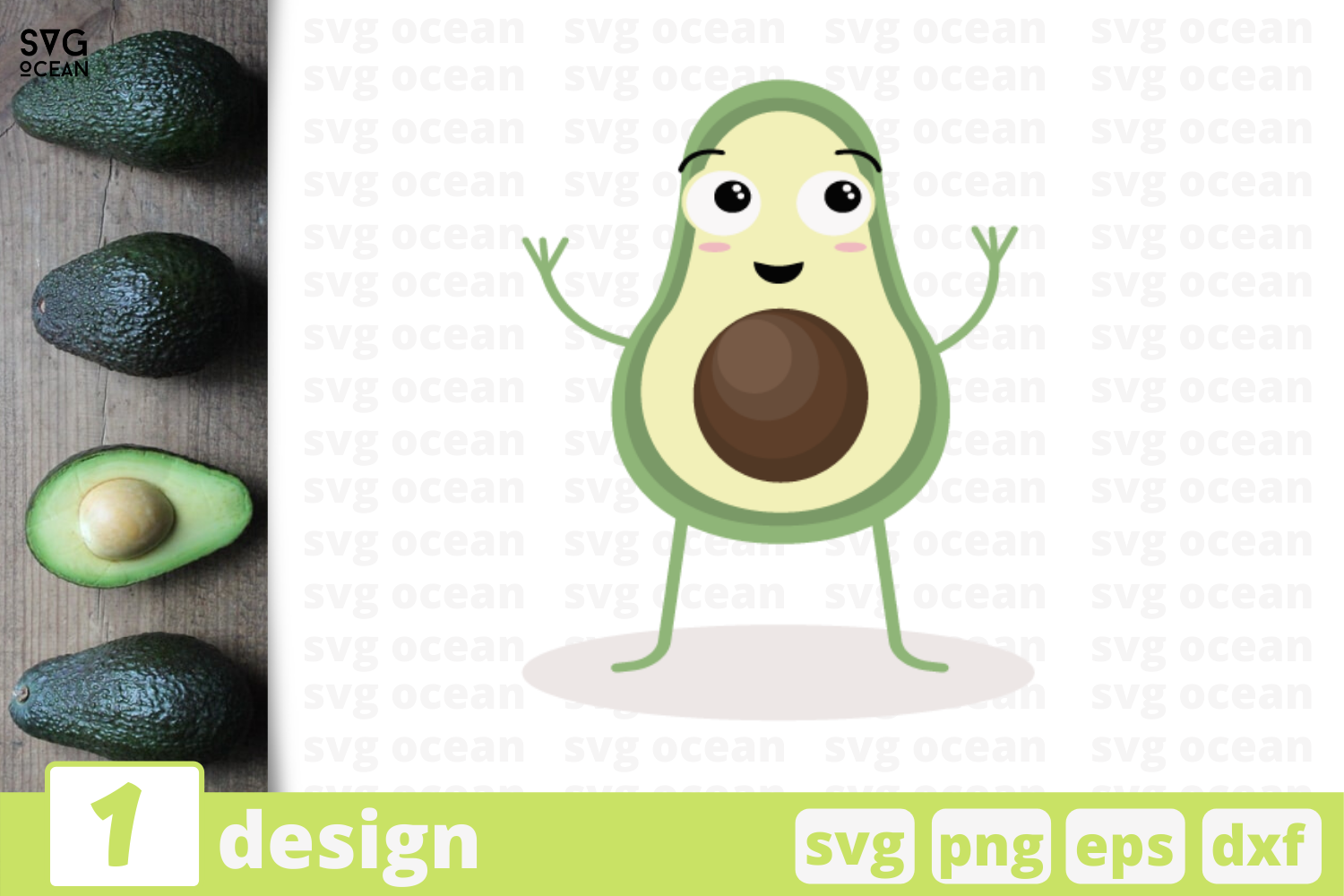 1 Avocado Svg Bundle Fruit Cricut Svg By Svgocean Thehungryjpeg Com