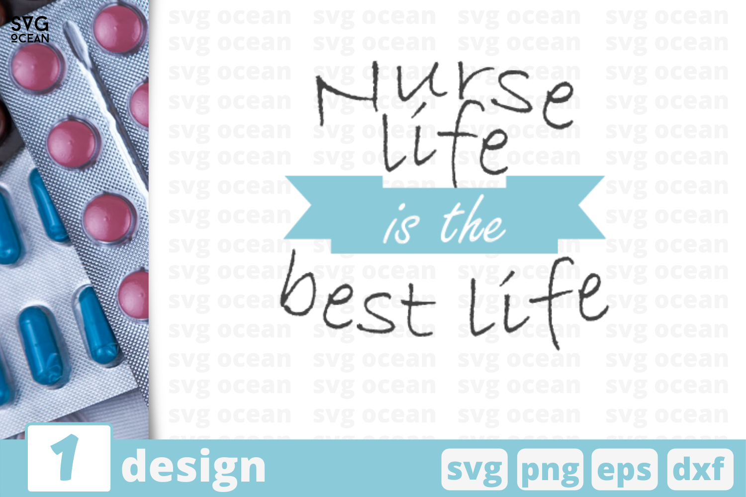1 Nurse Life Svg Bundle Nurse Quotes Cricut Svg By Svgocean