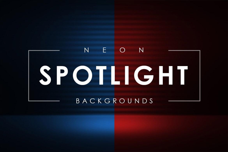 Neon Spotlight Backgrounds By Artistmef Thehungryjpeg Com