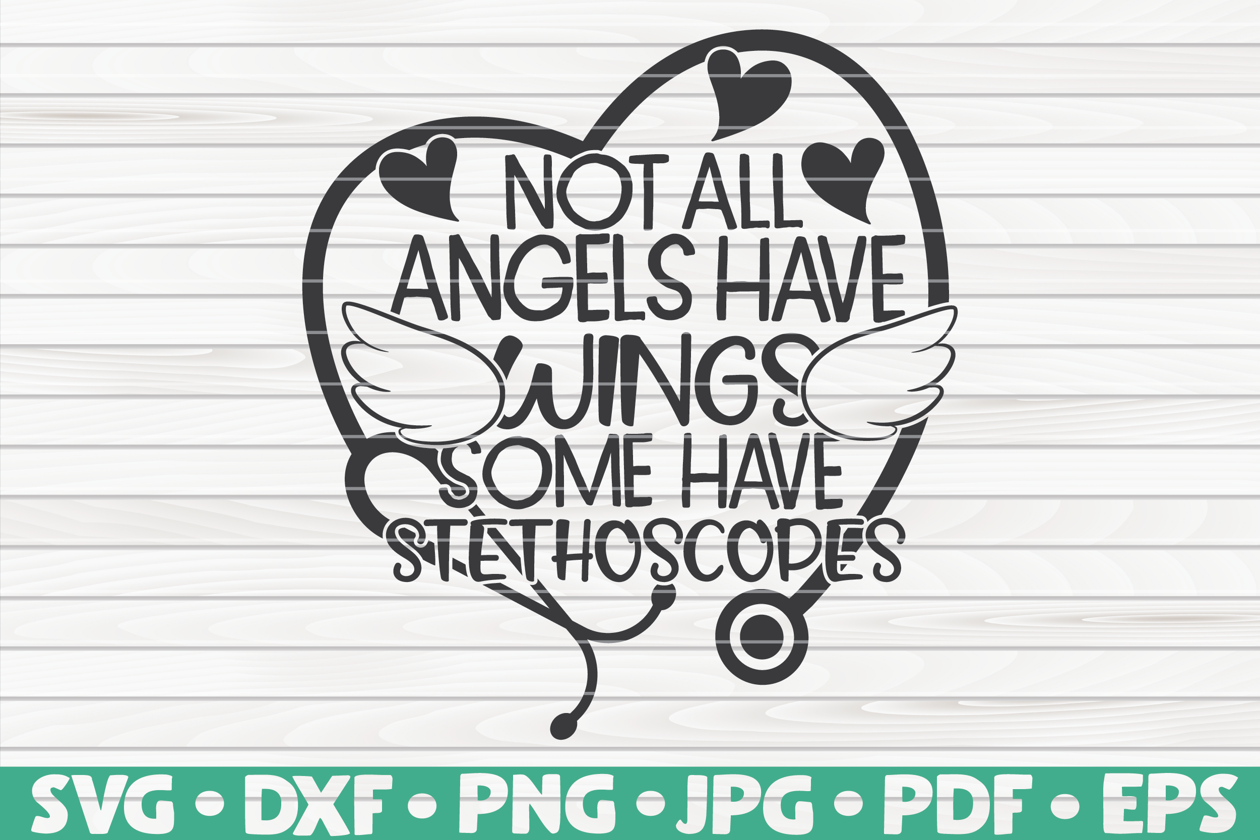 Not All Angels Have Wings Svg Nurse Life By Hqdigitalart